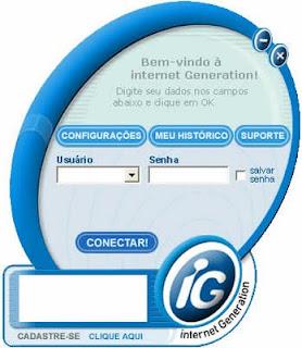 Discador IG gratuito