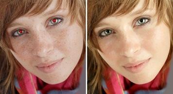 Como evitar os olhos vermelhos nas fotografias